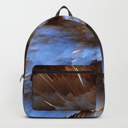 Abstract Explosion Backpack