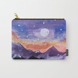Mountain range Carry-All Pouch