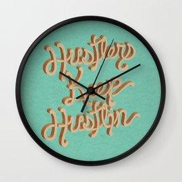 Hustlers Keep Wall Clock