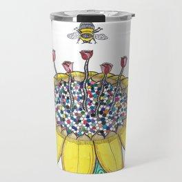 Bees at Work Travel Mug