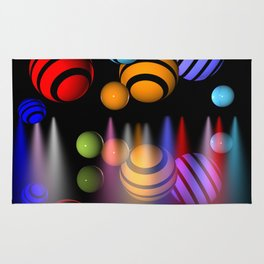 balls of light -2- Rug