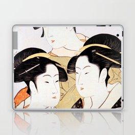 Three Beauties of the Present Day Laptop & iPad Skin