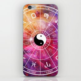 We are one with the universe iPhone Skin