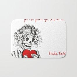 Frida Kahlo - Eres mi nada Bath Mat
