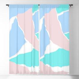 Pastel Paper Blackout Curtain