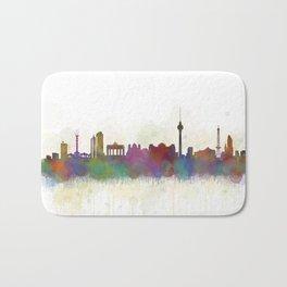 Berlin City Skyline HQ5 Bath Mat