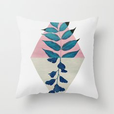 Geometry and Nature I Throw Pillow