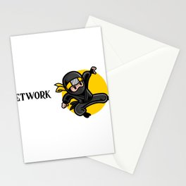 Efficient Network Administrator Stationery Cards