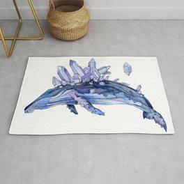Crystal whale Rug