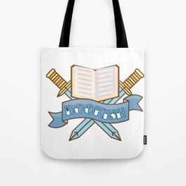 Slayer of TBR Piles Tote Bag