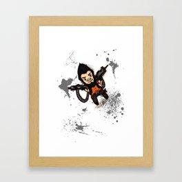 Borderlands 2 - Chibi Gunzy! Framed Art Print