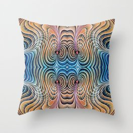 Colliding Cardiac Magnetospheres Throw Pillow