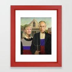 Make America Gothic Again Framed Art Print