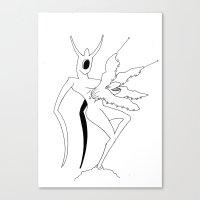 diablo Canvas Prints featuring diablo by yogib33r