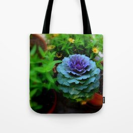 Seaside Cabbage Tote Bag