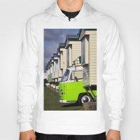 vw bus Hoodies featuring Vdub VW Bus by Rainer Steinke
