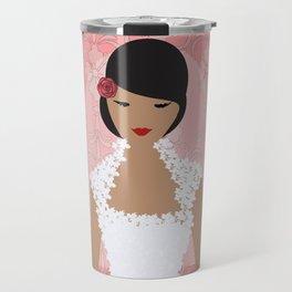 Pink Bride Travel Mug