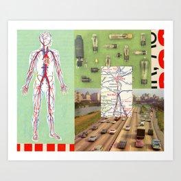 Circulatory Art Print