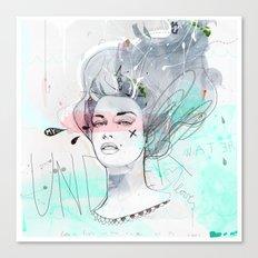 Under Water Love Canvas Print