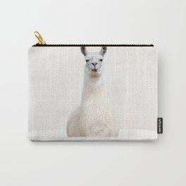 llama in a Vintage Bathtub (c) Carry-All Pouch
