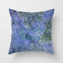 Moment of Epiphany: Purple-Lilac Version Throw Pillow