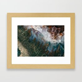 Amethyst Study #1 Framed Art Print