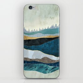 Turquoise Hills iPhone Skin