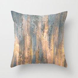 Waterfall - Original Art Throw Pillow