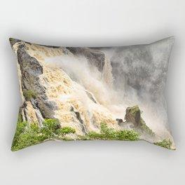 Barron Falls under a summer sky Rectangular Pillow