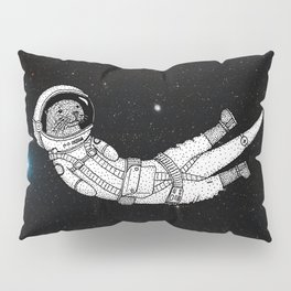 André Floating Around in Otter Space Pillow Sham