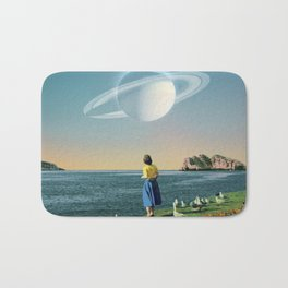 Watching Planets Bath Mat