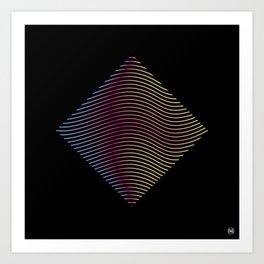 LinesIV/ Art Print
