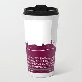 The Lonely Typewriter {dark plum} Travel Mug