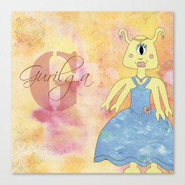 Princess Gurilga (Princess Monsters A to Z) Canvas Print
