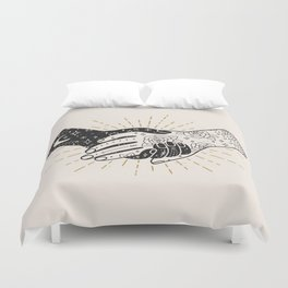 Hold On Duvet Cover