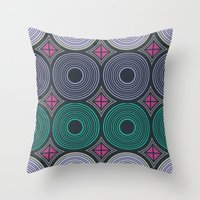 returns Throw Pillows featuring Mod Returns by MY  HOME