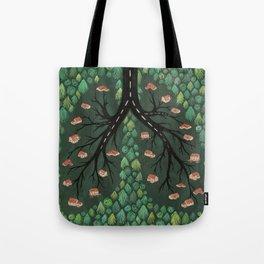 Deforestation - Suburban Suffocation Tote Bag