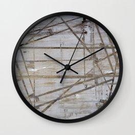 Tape Marks Wall Clock