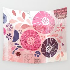 I Am Going To Daydream Today Wall Tapestry