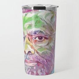 Narendra Modi (Creative Illustration Art) Travel Mug