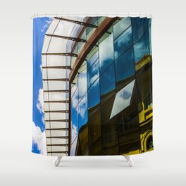 Modern and classic architecture Shower Curtain