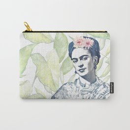 Viva la Frida | Watercolor Carry-All Pouch