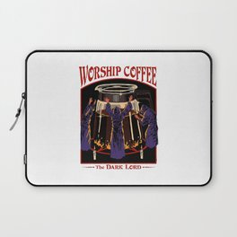 Worship Coffee Laptop Sleeve