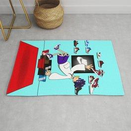 Nikе Air Jordan 1 Colorful Sneakerhead Poster DIGITAL Rug