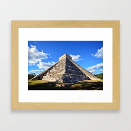 Chichen Itza (Mexico) Framed Art Print