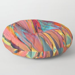 Abstracts in Color No 6, 2019 Floor Pillow