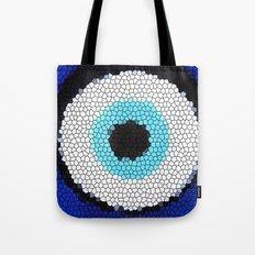Blue eye Luck Tote Bag