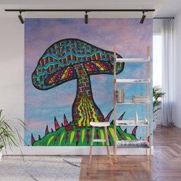 Mushroom Hill Wall Mural