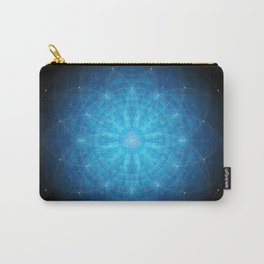 crystal mind. sacred geometry mandala Carry-All Pouch