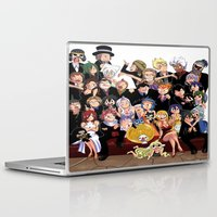 fairy tail Laptop & iPad Skins featuring Fairy Tail 8th Anniversary by Minty Cocoa